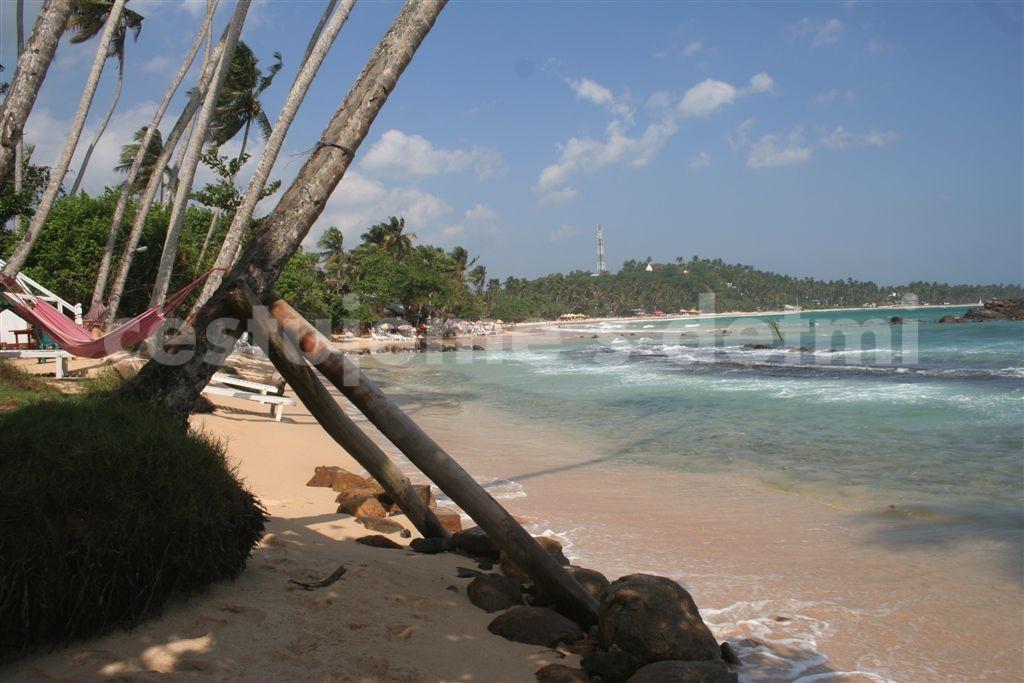 Srí Lanka, beach Mirissa